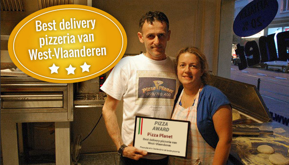 Award Best pizza Delivery